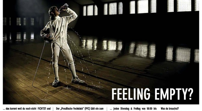 fencing club ad [2014]