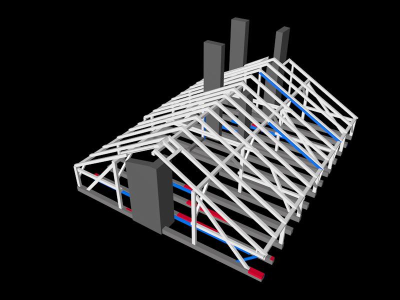 3D Dachgeschoss